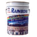 Sơn nước ngoại thất Rainbow màu trắng bóng mờ 406 4Lit 1111111111